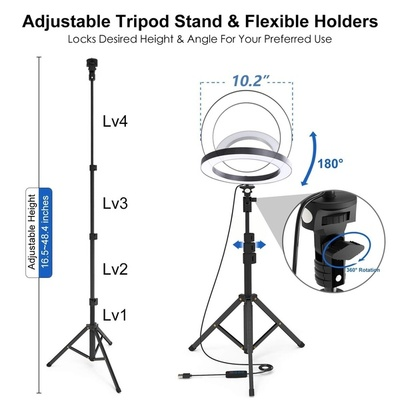 ALL-IN-ONE PROFESSIONAL SELFIE STICK & BUILT IN TRIPOD